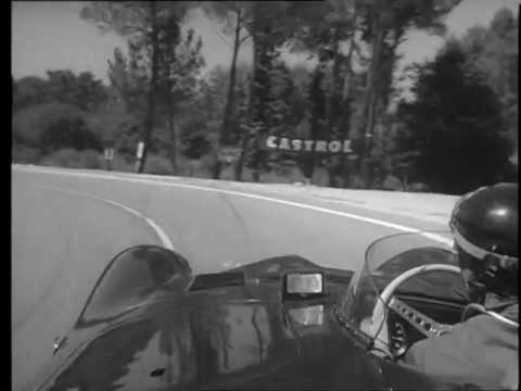 Mike Hawthorn - Le Mans 1956 - Jaguar D-Type