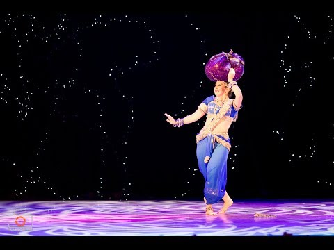 Индийский танец Гаджа Гамини (Болливуд, Южная Индия)
