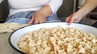 Manti Dumplings Making Of