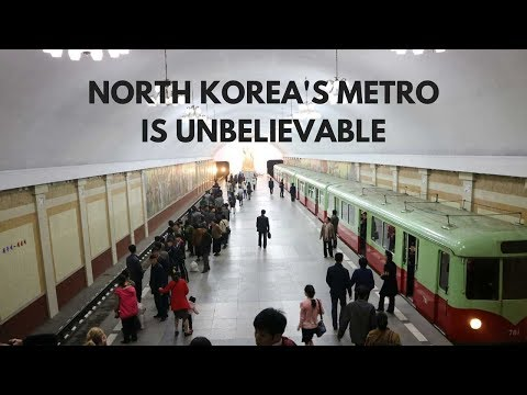 North Korea's Metro is UNBELIEVABLE