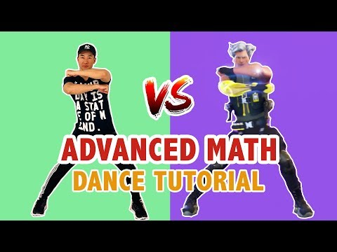 Fortnite Advanced Math (Dance Tutorial) | Easy Fortnite Dance