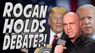Trump Agrees to Biden Debate on Rogan Podcast?!