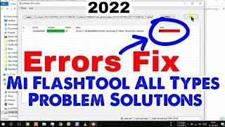 Download Video Mi Flashtool Error Solution || Mi Flashing Fix All Type Problem 10000% ✓ Working Method MP3 3GP MP4