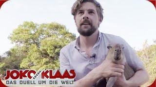 Venezuela: Ein Spiel spielen | Joko gegen Klaas - Das Duell um die Welt | ProSieben