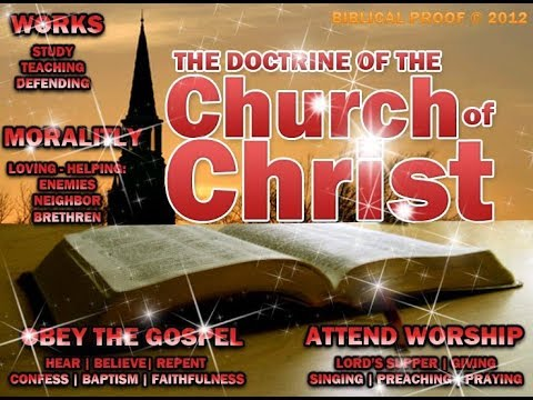 The Church of Christ: Beware of its false gospel and legalist doctrines!
