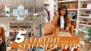 ITS OKAY TO BE STYLISH AT WORK | FALL FASHION | MADEWELL WORKFORCE WEAR