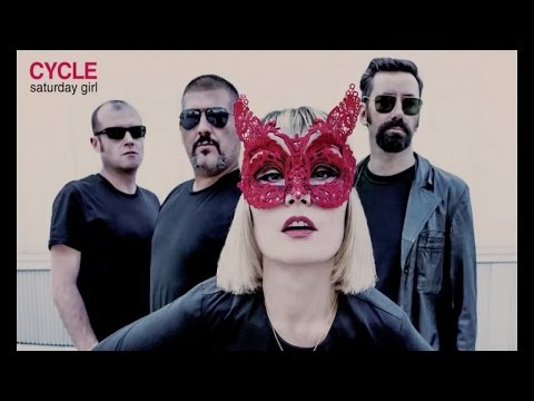 Cycle - Saturday girl (lyric video)