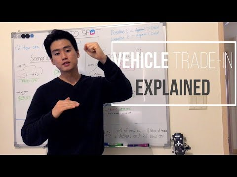 Vehicle Trade-in explained