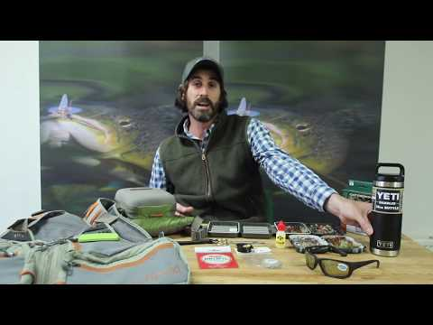 What You Need In Your Trout Fly Fishing Pack / Vest
