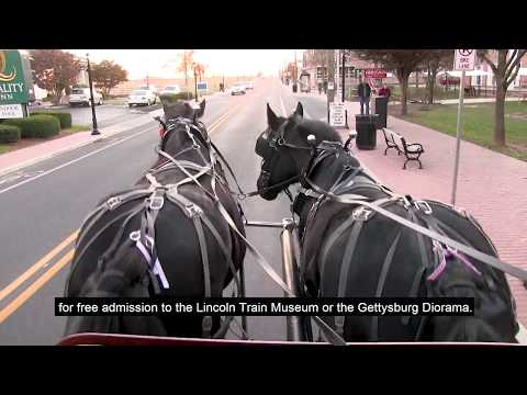 2 Hour Gettysburg Battlefield Licensed Guided Carriage Tour - Video