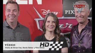 Cars 3 De Disney•Pixar | Visita A España De Brian Fee, Kevin Reher Y Kim White | HD