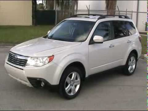 for sale 2009 subaru forester 2 5x limited awd navigation youtube. Black Bedroom Furniture Sets. Home Design Ideas