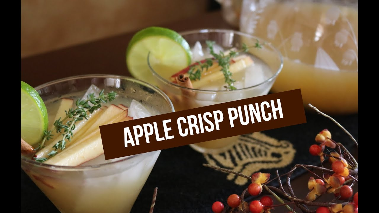 Apple Crisp Punch