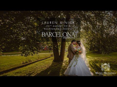 Lauren & Nick Wedding Slideshow - Rownhams House, Hampshire, UK