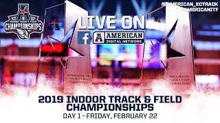 2019 American Indoor Track & Field Championship Day 1