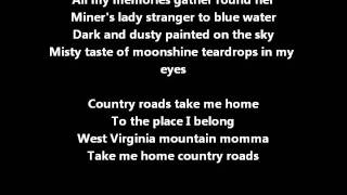Hermes House Band - Take Me Home Country Roads lyrics