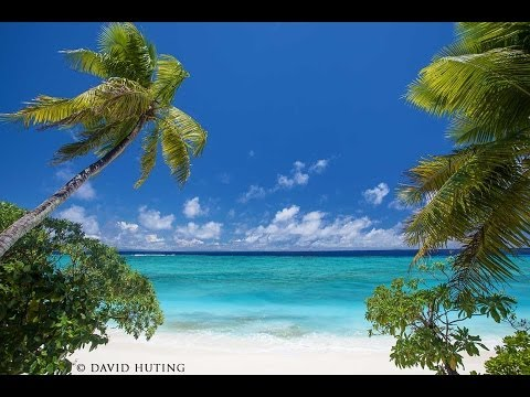1 HOUR ON THE MOST BEAUTIFUL ISLAND EVER Slow-TV Relaxation