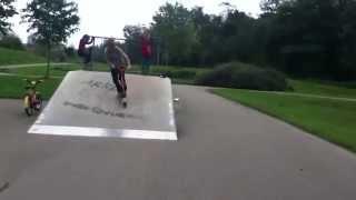 Unsere Crew im Rieselfelder Skate Park