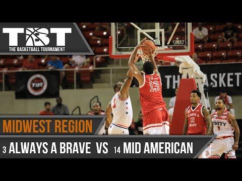 2017 TBT Midwest Region Recap - #14 Mid American vs. #3 Always A Brave