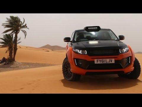 Superautos Range Rover Evoque tipo Rally Capitulo 3Completo