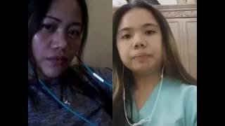 "Irene Tolledo & wilma""natatawa ako"""