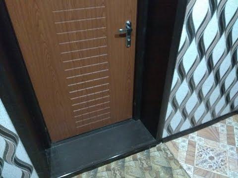 Как сделать откос (добор) на входную дверь 2. Хроники самодела)))