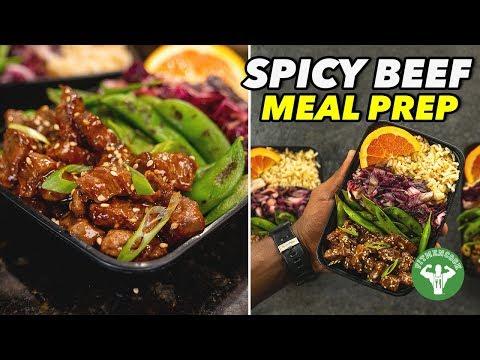 Sweet & Spicy Beef Meal Prep Recipe