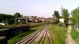 Ж/д вокзал с моста. Херсон.(, 2016-06-21T18:44:27.000Z)