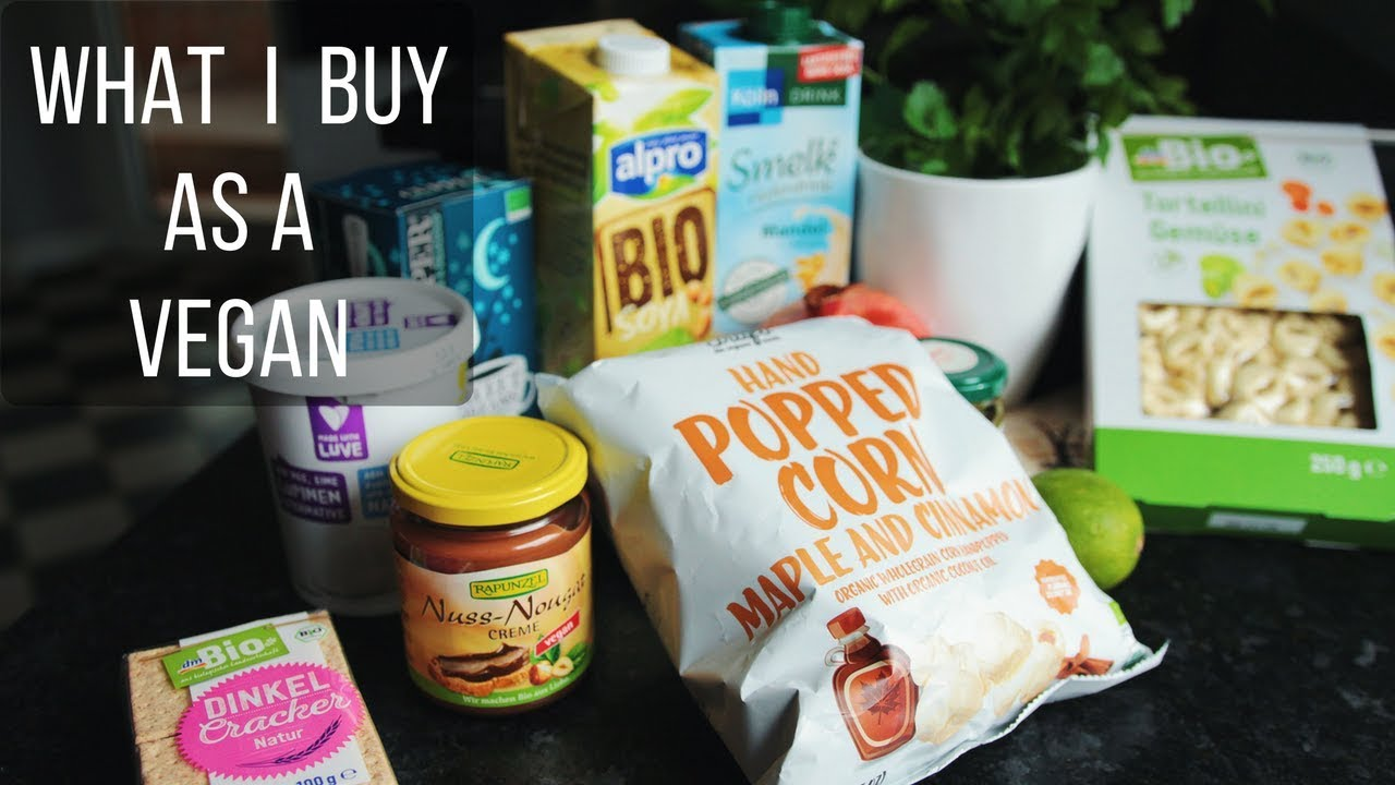 what to buy for vegan diet