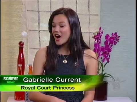 Gabrielle Current of the 2015 Tournament of Roses Royal Court