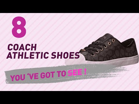 Coach Athletic Shoes // New & Popular 2017