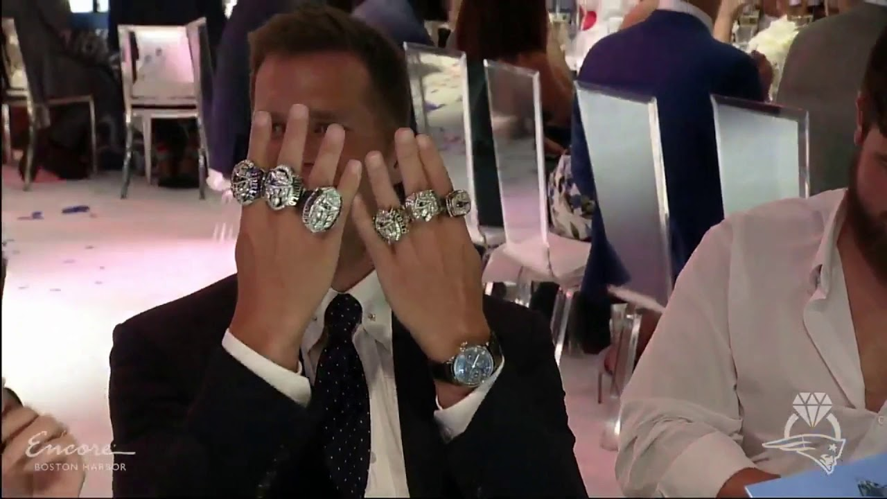 Tom Brady 6 Super Bowl Rings Youtube