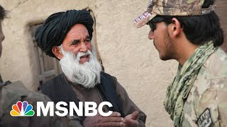 With US Set To Leave Afghanistan, Concerns Turn To Afghan Allies Left Behind | Rachel Maddow | MSNBC