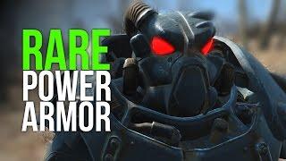 Fallout 4 Rare Enclave Power Armor! (X-01 Remnants Armor)