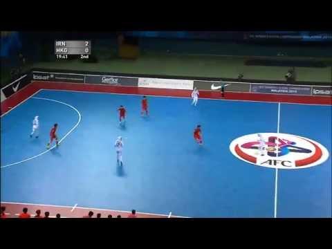 AFC Women's Futsal Championship Malaysia 2015 - Match #4 IR IRAN V HONG KONG