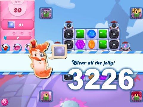 Candy Crush Saga Level 3226 (3 stars, No boosters)