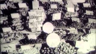 The Split In Germany, 1950's - Film 7496