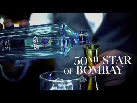 Bombay Sapphire Star Martini Cocktail