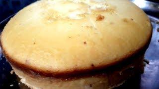 ഈസി ആയി കേക്ക് ഉണ്ടാക്കാം ഓവനും ബീറ്ററും ഇല്ലാതെ Easy & Tasty Xmas Cake Recipe | Vanilla Sponge Cake