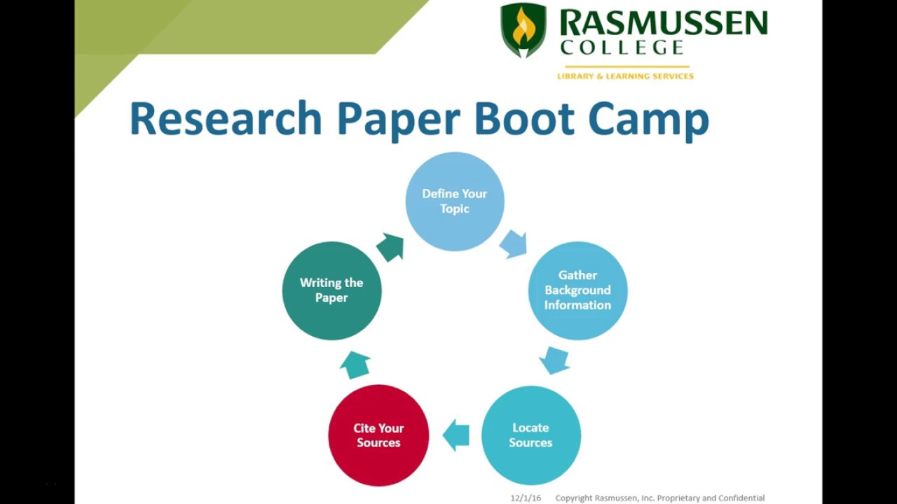 Paper on boot camp