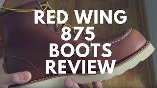 "Red Wing 875 ""Oro-iginal"" Boots"