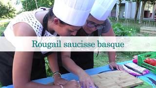 Rougail saucisse basque - Lot Koté La Mèr