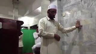 الإمام الذي ثبت خلال الزلزال بعد فرار أغلب المصلين