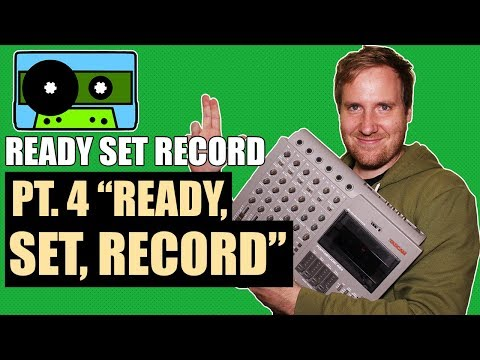 How to Record a Song on a Tascam 424 mkiii 4-track - Part 4 | 424recording.com