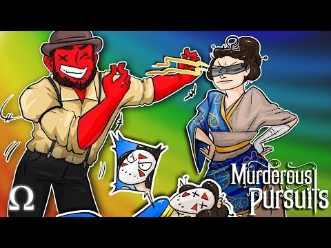 THE SHIP + ASSASSIN'S CREED MULTIPLAYER?! | Murderous Pursuits Ft. Cartoonz, Delirious, Gorilla