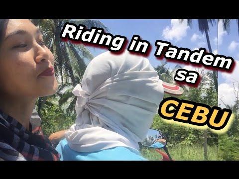 Riding in tandem sa Cebu! (Cebu tour Day 1)