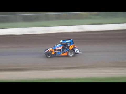 Grays Harbor Raceway May 20, 2017, Northwest Focus Midget Series B-Main
