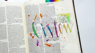 bible journaling process video listen mark chapter 4 by tai bender for illustrated faith