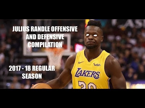 Julius Randle Offensive and Defensive Highlights (2017-18 NBA Regular Season)