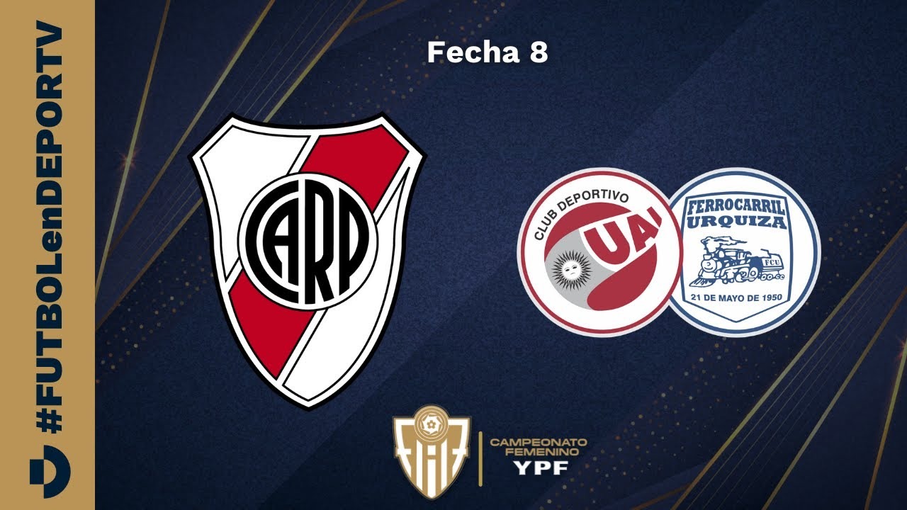 Download River vs UAI Urquiza - Campeonato Femenino YPF - Fecha 8 - #FUTBOLenDEPORTV